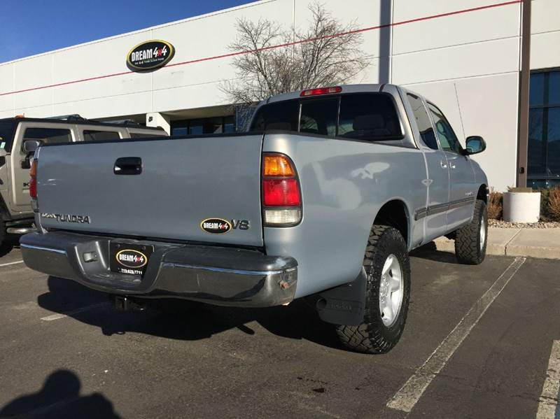 2000 Toyota Tundra 4dr Sr5 V8 4wd Extended Cab Sb In Colorado Springs Co Dream4x4