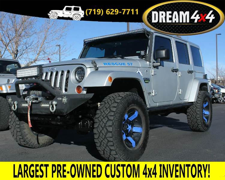 2012 Jeep Wrangler Unlimited Rubicon Call Of Duty MW3 4x4 4dr SUV    Colorado Springs CO