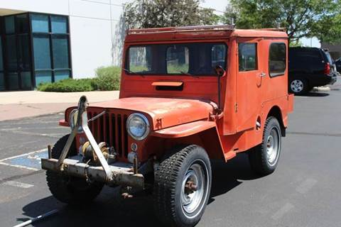 1951 Willys CJ-3A for sale in Colorado Springs, CO