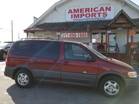 2002 Pontiac Montana for sale in Indianapolis, IN
