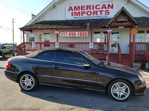 Mercedes Benz Indianapolis >> Used Mercedes Benz Clk For Sale In Indianapolis In Carsforsale Com