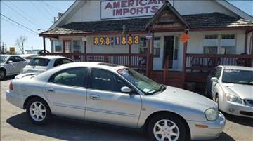 2002 Mercury Sable for sale in Indianapolis, IN