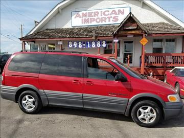1998 Pontiac Trans Sport for sale in Indianapolis, IN