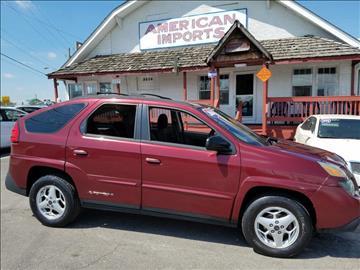 2004 Pontiac Aztek for sale in Indianapolis, IN