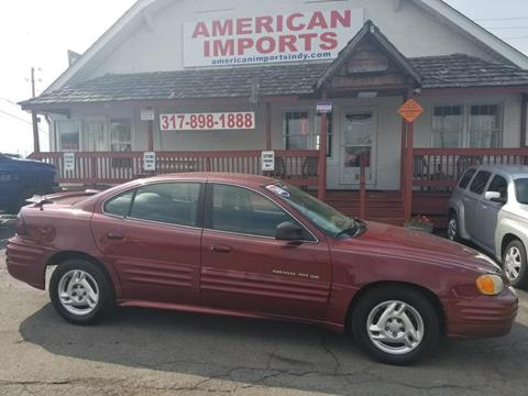 2001 Pontiac Grand Am for sale in Indianapolis, IN