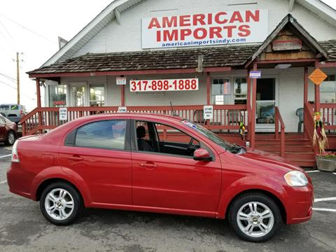 2011 Chevrolet Aveo for sale in Indianapolis, IN