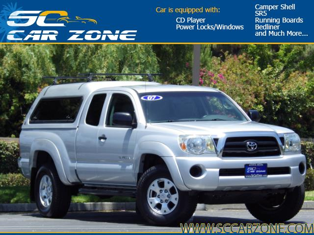 Used 2007 Toyota Tacoma Prerunner 4dr Access Cab 6 1 Ft