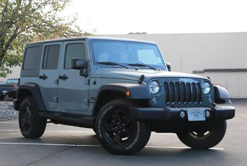 jeep wrangler 2015 white 4 door. 2015 jeep wrangler unlimited for sale in fife wa white 4 door