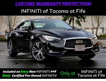 2017 Infiniti Q60 for sale in Fife, WA