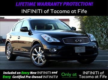 2013 Infiniti EX37 for sale in Fife, WA