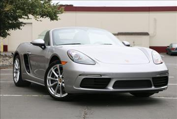2017 Porsche 718 Boxster for sale in Fife, WA