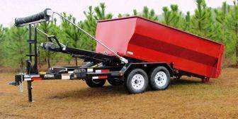 2014 Anderson Manufacturing RD7T Roll Off Dump