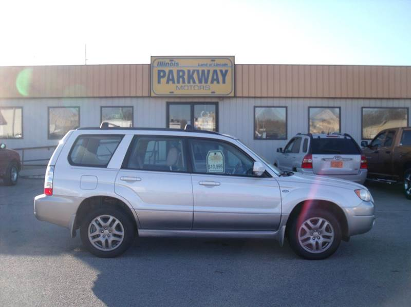 2008 subaru forester 2 5 x l l bean edition awd 4dr wagon for Parkway motors inc springfield il