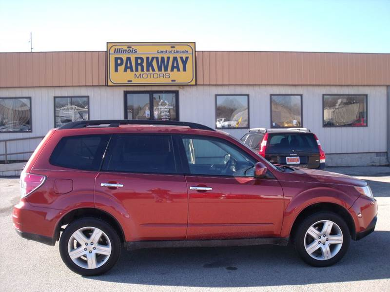 2010 subaru forester in springfield il parkway motors