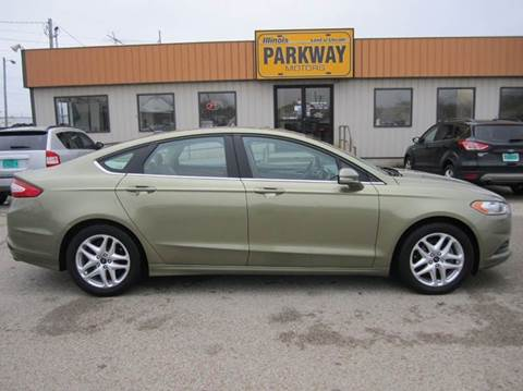 2013 Ford Fusion for sale in Springfield, IL