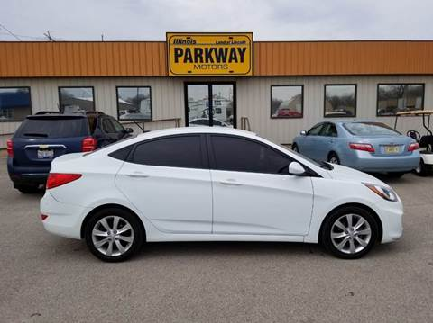 2012 hyundai accent for sale in illinois for Parkway motors inc springfield il