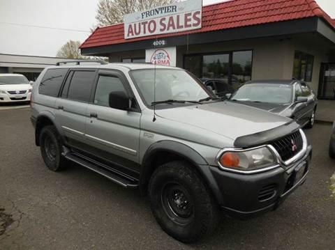 2001 Mitsubishi Montero Sport for sale in Auburn, WA