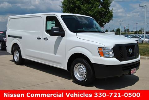 2016 Nissan NV Cargo for sale in Medina, OH