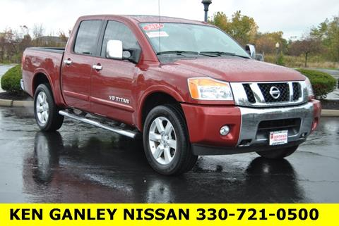 2014 Nissan Titan for sale in Medina, OH