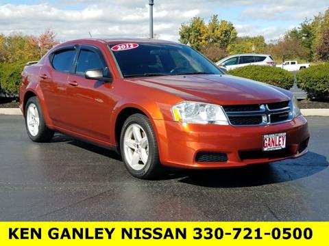 2012 Dodge Avenger for sale in Medina, OH