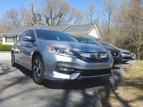 2016 Honda Accord for sale in Spartanburg, SC