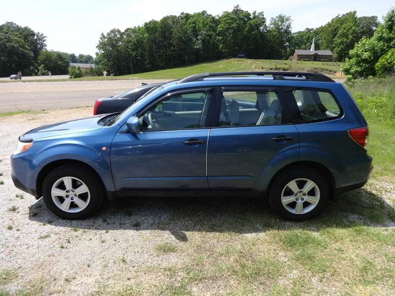 2010 subaru forester awd 2 5x 4dr wagon 4a in columbus ms tousley motors. Black Bedroom Furniture Sets. Home Design Ideas