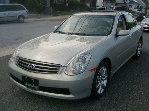 2006 Infiniti G35 for sale in North Merrick, NY