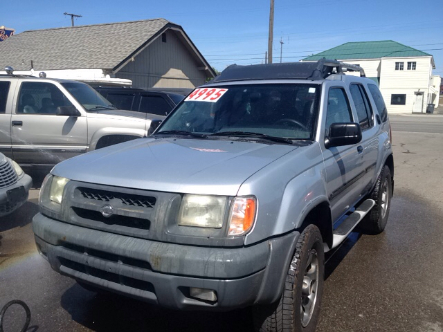 2001 nissan xterra 4dr xe v6 4wd suv in spokane wa blue. Black Bedroom Furniture Sets. Home Design Ideas