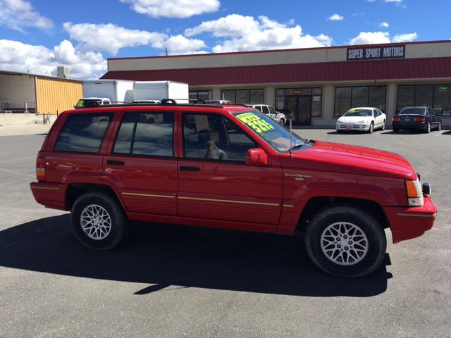 1993 jeep grand cherokee limited 4dr 4wd suv in carson city nv super sport motors. Black Bedroom Furniture Sets. Home Design Ideas