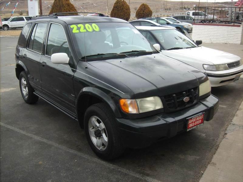 1998 Kia Sportage 4dr 4wd Suv In Carson City Nv Super