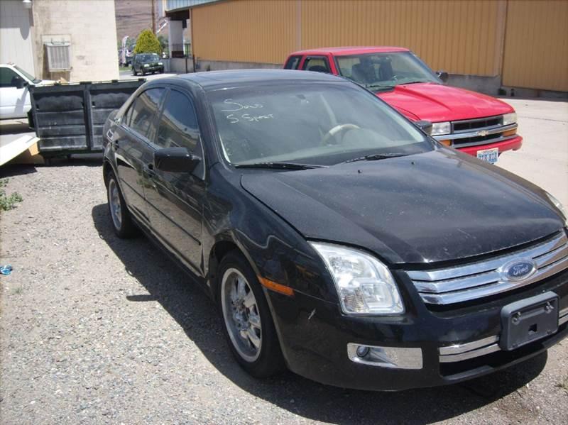 2006 ford fusion v6 sel 4dr sedan in carson city nv super sport motors. Black Bedroom Furniture Sets. Home Design Ideas