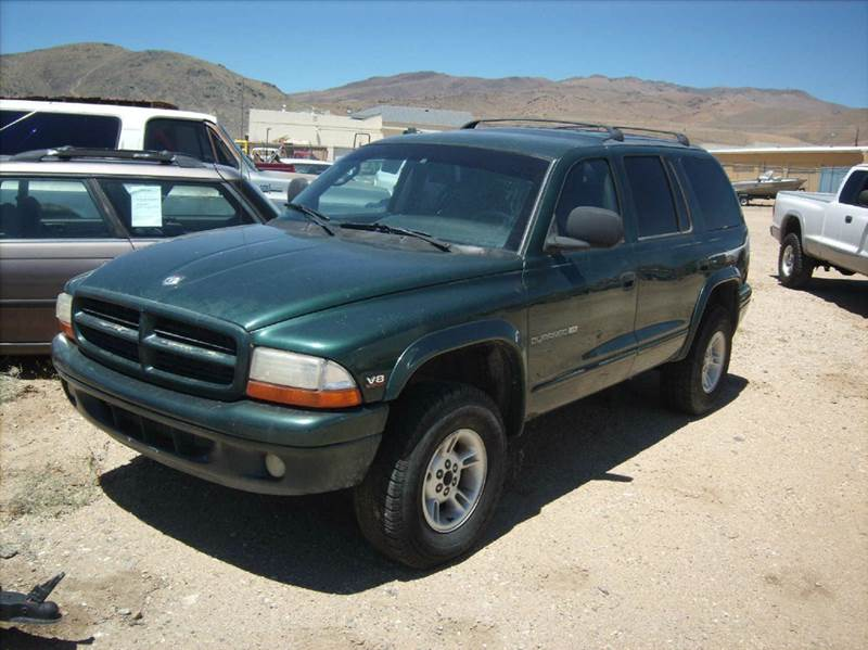 2000 dodge durango 4dr slt plus 4wd suv in carson city nv. Black Bedroom Furniture Sets. Home Design Ideas