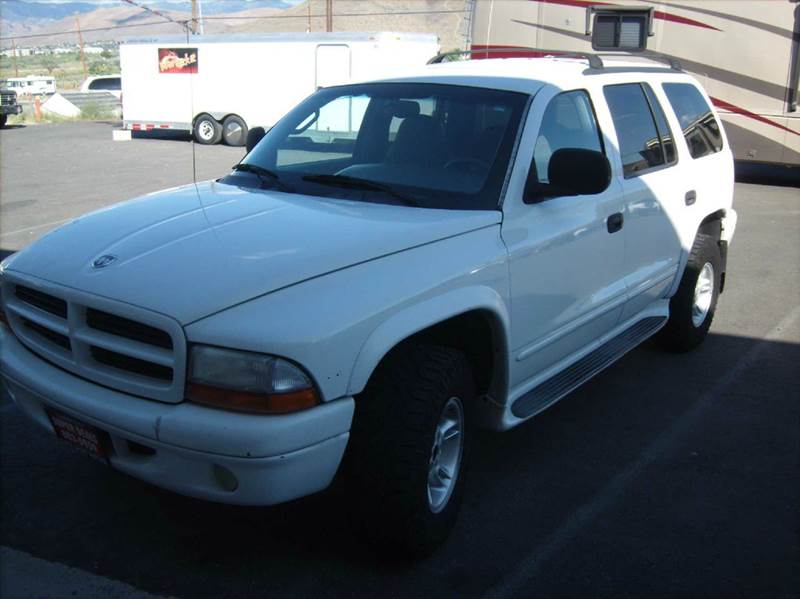 2000 dodge durango slt 4dr 4wd suv in carson city nv. Black Bedroom Furniture Sets. Home Design Ideas