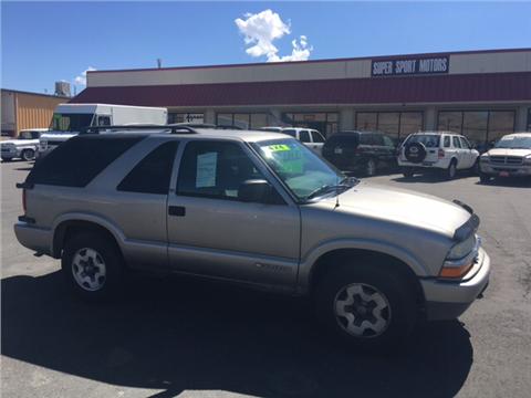 1999 Chevrolet Blazer for sale in Carson City, NV