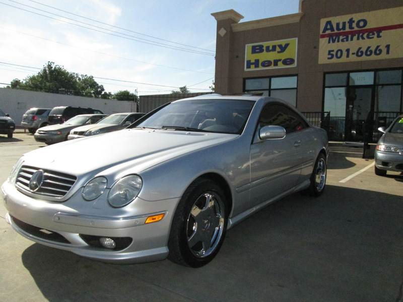 2002 mercedes benz cl class cl500 2dr coupe in oklahoma for Mercedes benz okc