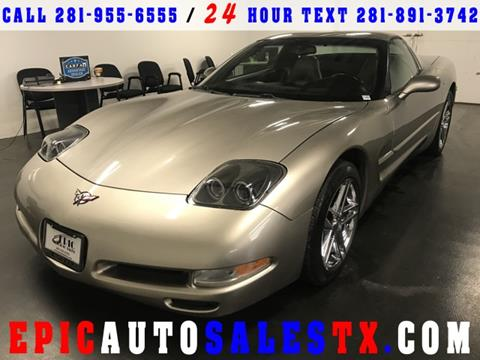 2001 Chevrolet Corvette for sale in Cypress, TX