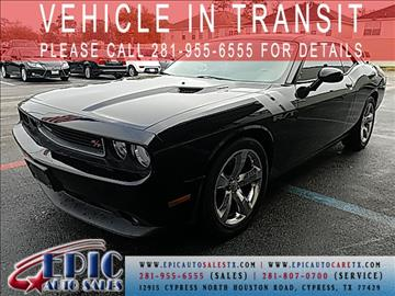 2012 Dodge Challenger for sale in Cypress, TX