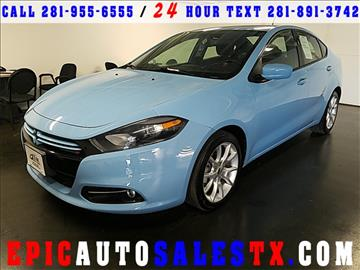 2013 Dodge Dart for sale in Cypress, TX