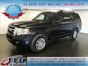 2012 Ford Expedition for sale in Cypress, TX