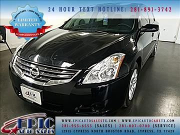 2012 Nissan Altima for sale in Cypress, TX