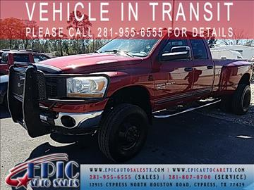 2006 Dodge Ram Pickup 3500 for sale in Cypress, TX