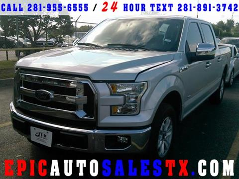 2016 Ford F-150 for sale in Cypress, TX