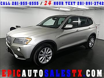 2014 BMW X3 for sale in Cypress, TX