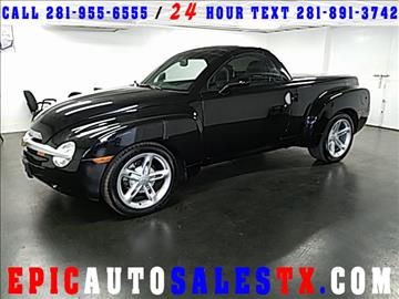 2003 Chevrolet SSR for sale in Cypress, TX