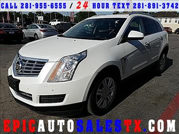 2013 Cadillac SRX for sale in Cypress, TX