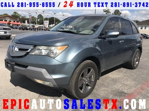 2008 Acura MDX for sale in Cypress, TX