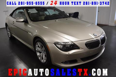 2009 BMW 6 Series for sale in Cypress, TX