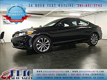2013 Honda Accord for sale in Cypress, TX