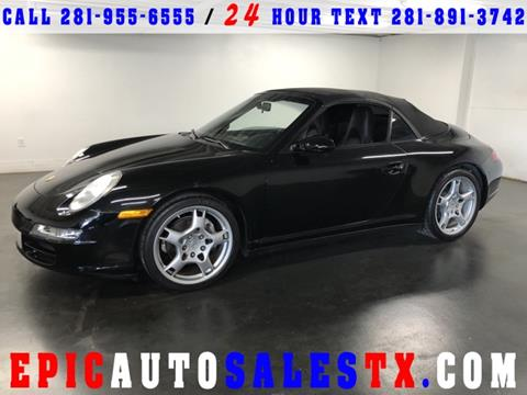 2007 Porsche 911 for sale in Cypress, TX