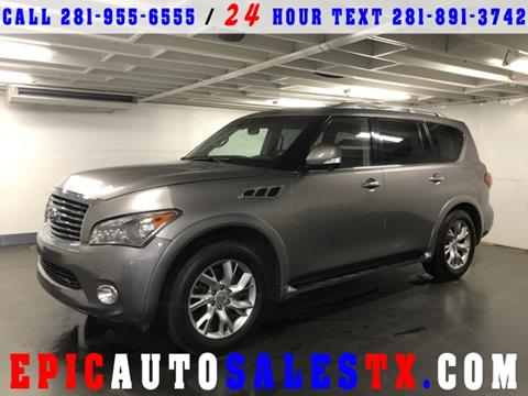 2011 Infiniti QX56 for sale in Cypress, TX